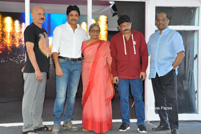 RGV New Movie Opening Stills With Nagarjuna