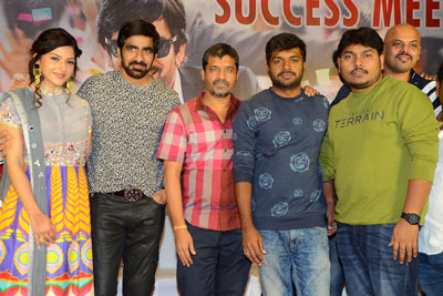 Raja The Great Team Success Meet Stills