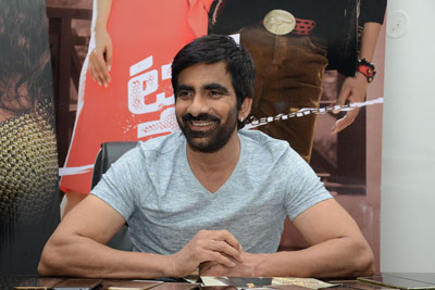 Ravi Teja At Touch Chesi Chudu Interview