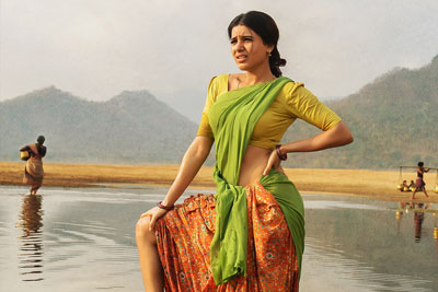 Samantha as Rama Lakshmi From Rangasthalam