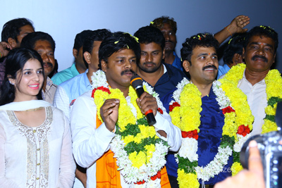 Sapthagiri LLB Andhra Success Tour