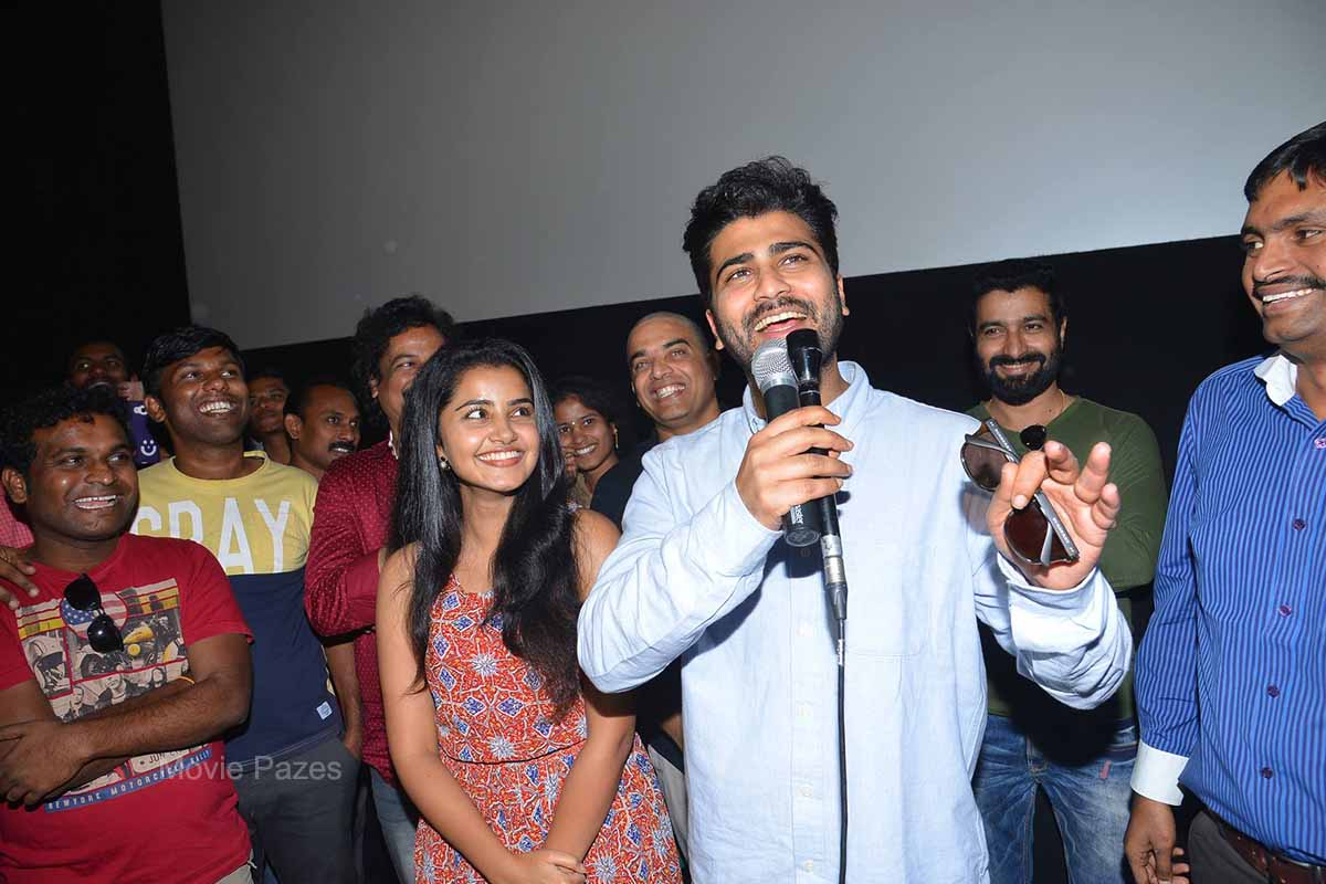 Sathamanam Bhavati Team at IMAX Karnool