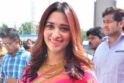 Tamannah Bhatia at a recent launch event