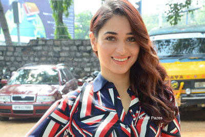 Tamannah at Queen Movie Launch