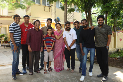 amala-in-the-sets-of-sharwanand-new-movie