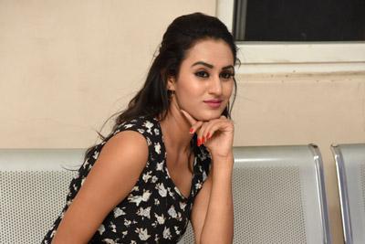 Ankita Rao At Swayamvadha Movie Teaser Launch