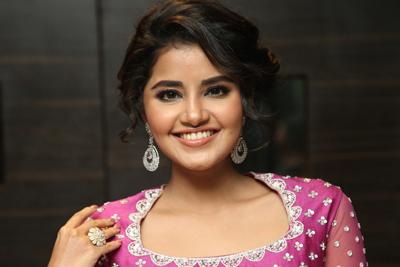 Anupama Parameswaran at Rakshasudu Movie Pre Release Event