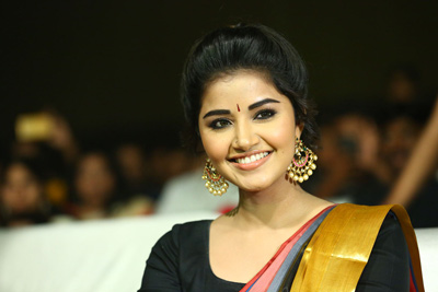 Anupama Parameswaran Stills at Tej I Love You Audio Launch
