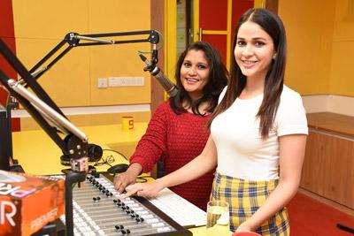 arjun-suravaram-2nd-song-launch-by-lavanya-tripathi-at-radio-mirchi