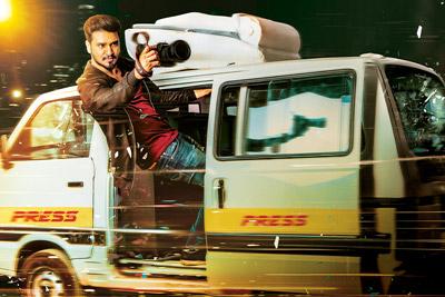 Arjun Suravaram Movie Title Posters