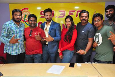 Brand Babu Team At Radio Mirchi Vijayawada