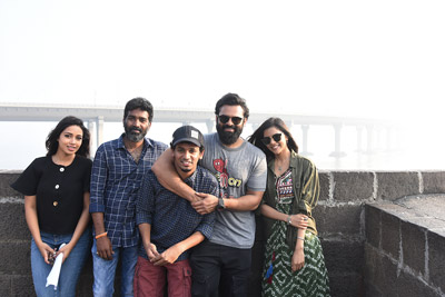 Chitralahari Movie Team Working Stills