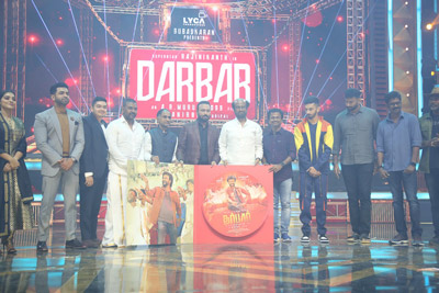 Darbaar Movie Audio Launch Event