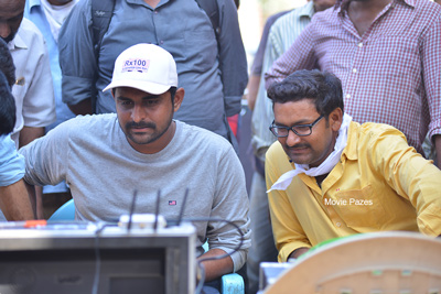 Director Ajay Bhupathi Working Stills