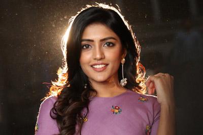 Eesha Rebba at Subrahmanyapuram Movie Audio Launch