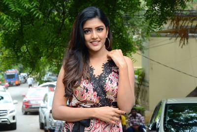 Eesha Rebba Stills at Brand Babu Interview