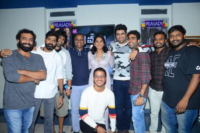 Evaru Movie Team And Celebs at Premier Show