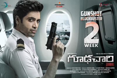 Goodachari Running 2nd Week Successfully