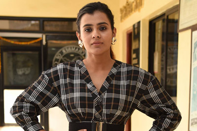 Hebah Patel at 24 Kisses Movie Team Interview With Press