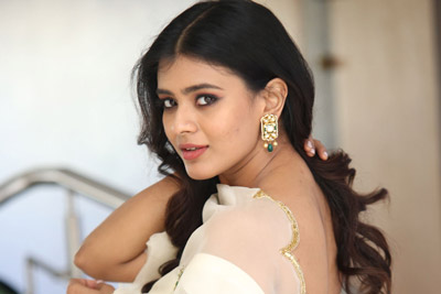 Hebah Patel Stills at 24 Kisses Trailer Launch Event