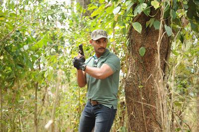 Hero Aadhi Stills From Operation Gold Fish