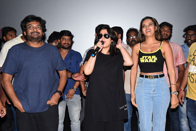 Ismart Shankar Team Success Tour