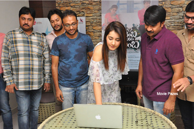 Jambalakidi Pamba Movie 1st Song Launch By Raashi Khanna
