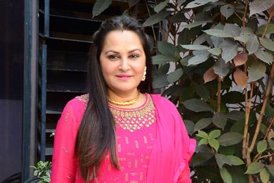 Jayaprada Stills at Interview For Sarabha