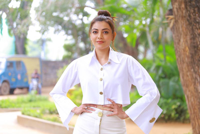 Kajal Interview About Kavacham Movie