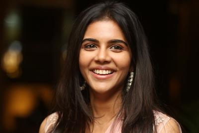 Kalyani Priyadarshan at Ranarangam Movie Pre Release Event