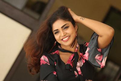Karunya Chowdary at 3 Monkeys Movie Team Pressmeet