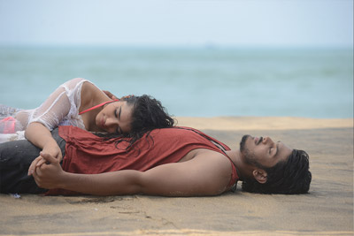 Kethika And Akash Puri stills from Romantic Movie