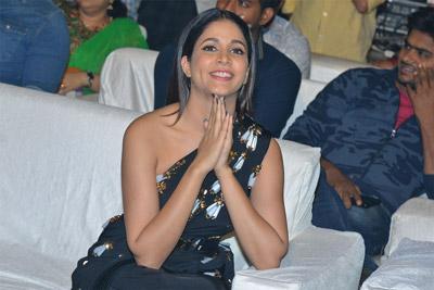 Lavanya Tripathi at Antariksham 9000 KMPH Pre Release