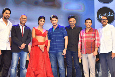 Maharshi Movie Vijayotsavam Event