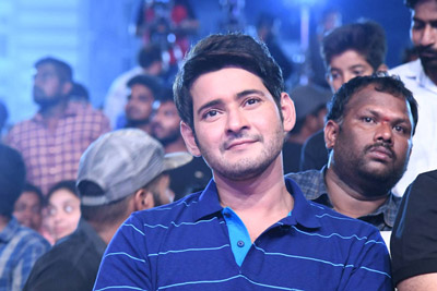 Mahesh Babu at Maharshi Movie Vijayotsavam Event