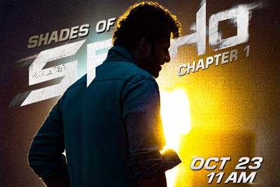 Makers of Superstar Prabhas's next introduce Shades of Saaho on 23rd Oct
