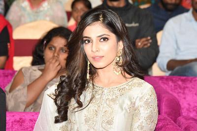 Malavika Nair at Petta Movie Pre Release Event