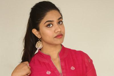 Malavika Satheesan at Chusi Chudangane Movie Team Success Meet