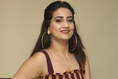Manjusha at Gaddhalakonda Ganesh Movie Success Celebrations