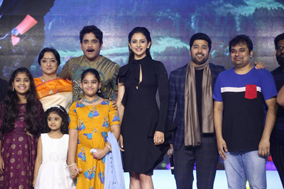 Manmadhudu 2 Pre Release Event