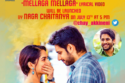 mellaga-lyrical-video-will-be-launched-today-by-naga-chaitanya