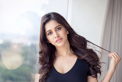 nabha-natesh-latest-photoshoot-stills-in-black-dress