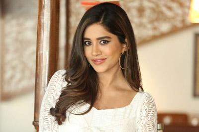 Nabha Natesh Stills At Disco Raja Interview