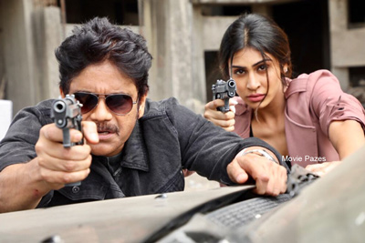 Nagarjuna Stills From Officer Movie