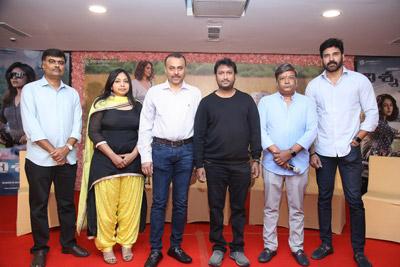 Nishabdham Movie Team Press Meet Event