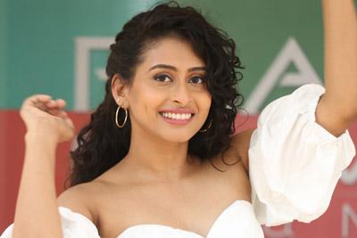 Nithya Naresh at Operation Gold Fish Movie Team Press Meet