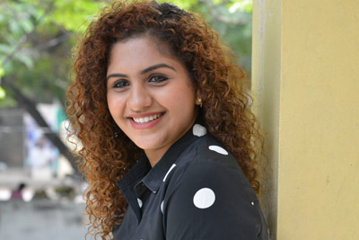 Noorin Shereef Stills at a Pressmeet About Lovers Day