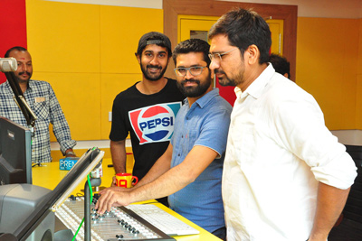 Paperboy Movie 2nd Song Launch At Radio Mirchi