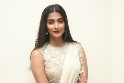 Pooja Hedge at Valmiki Movie Pre Release Event