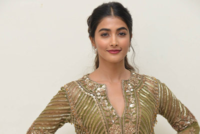 Pooja Hegde at Aravinda Sametha Success Meet Event